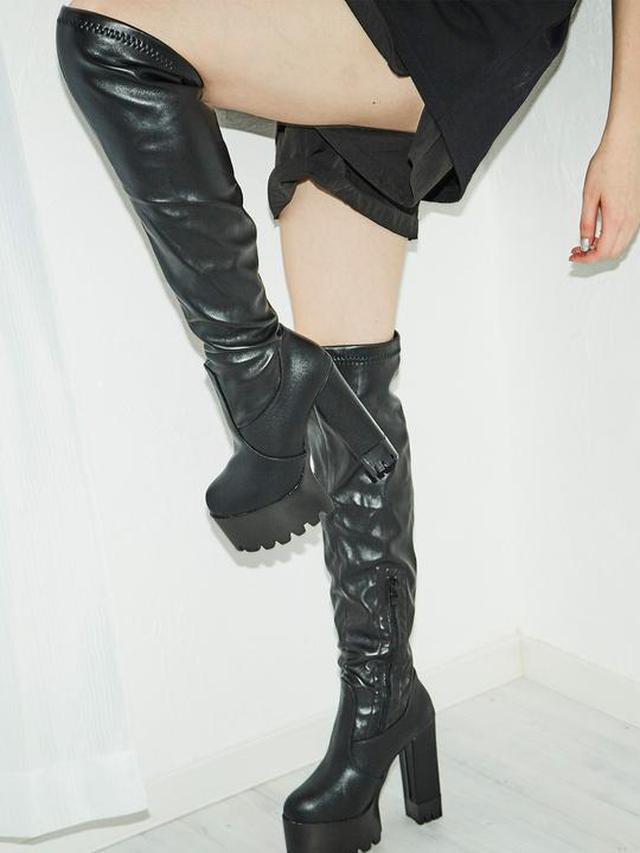 画像5: 秋冬の本命!厚底ブーツをご紹介