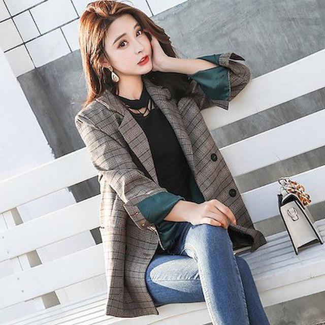 画像: [Qoo10] スーツジャケット レディース 秋 ピーコ : レディース服
