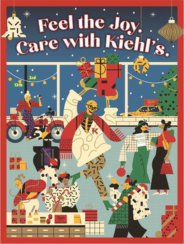 画像: Feel the Joy. Care with Kiehl's. ワクワクと、想いあふれるギフトを、キールズと贈ろう!