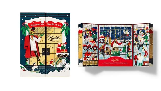画像1: キールズの人気製品が24日間、日めくりで楽しめる! 初登場のアドベントカレンダー
