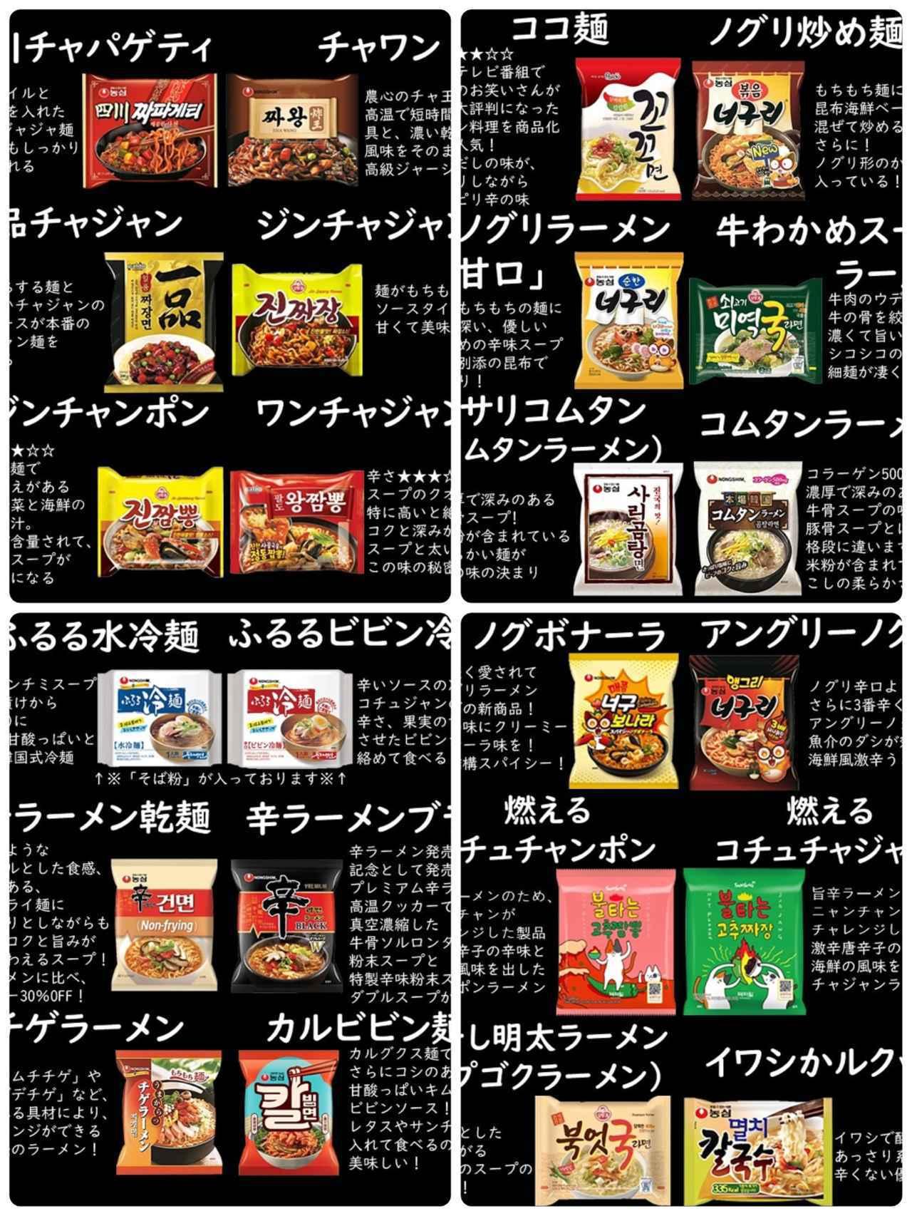 """画像2: 【Qoo10】おススメ""""韓国麺""""5選"""
