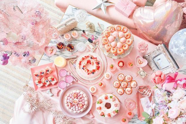 画像15: 【ヒルトン東京お台場】ピンクづくしのストロベリーデザートビュッフ「Christmas Girl's Room」
