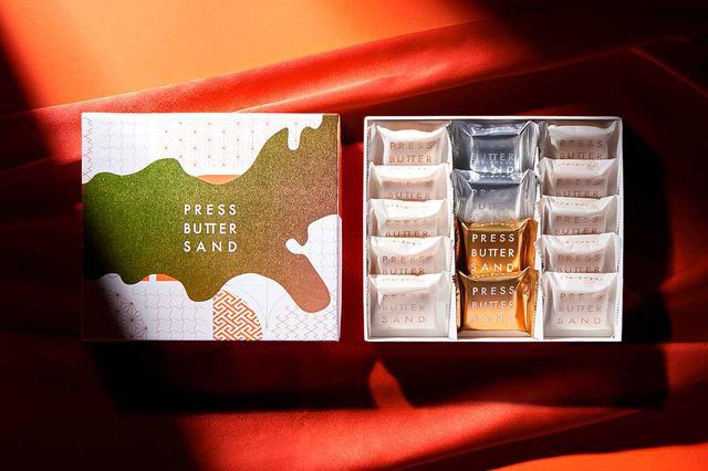 画像2: 12月1日(火)より、初のホリデーセットとなる「バターサンド ホリデーギフト」・年末年始セット「新春・バターサンド3種詰合せ」が登場 - バターサンド専門店 PRESS BUTTER SAND