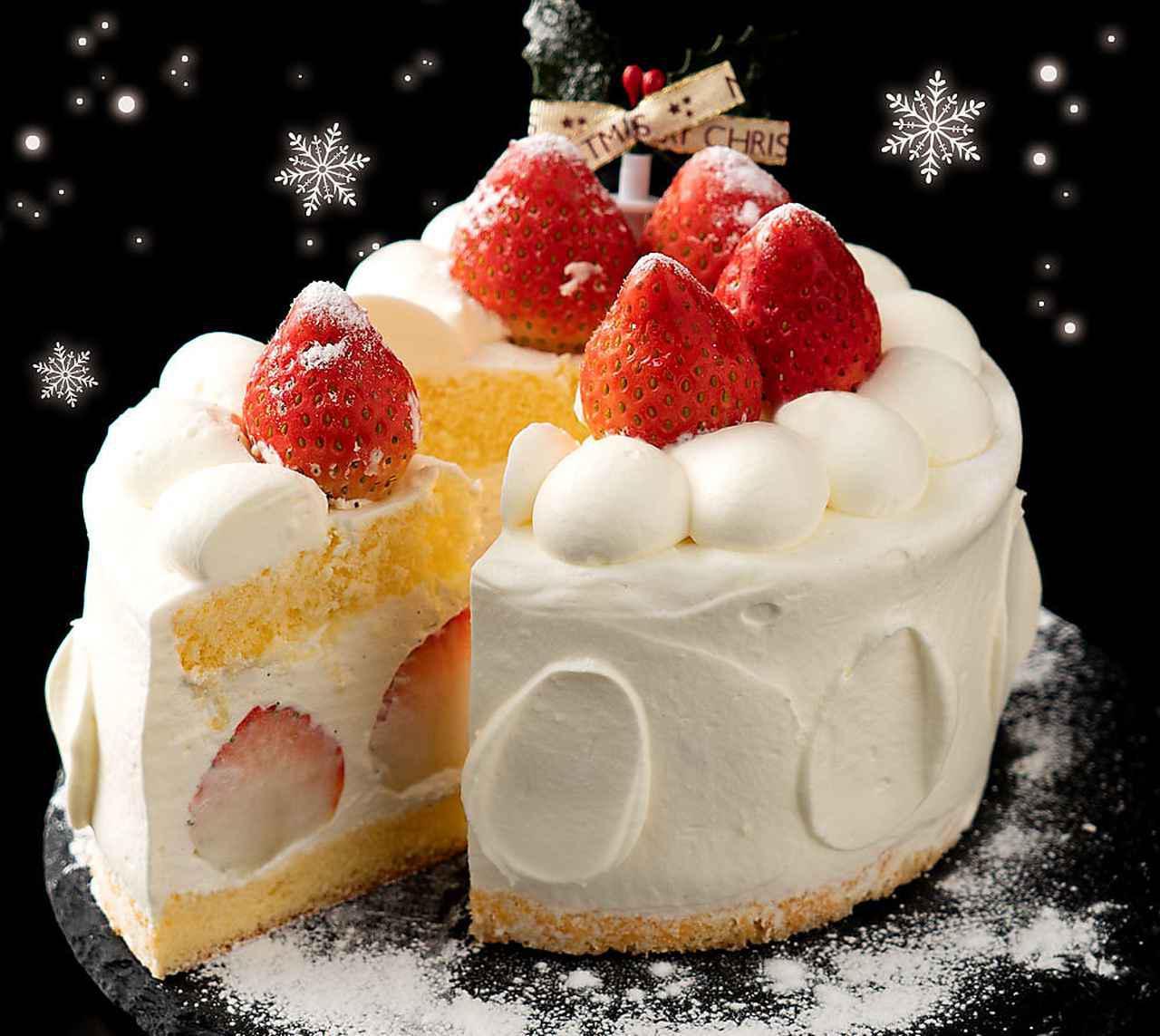 画像: 【1位】苺が沢山の花月堂特製クリスマスケーキ