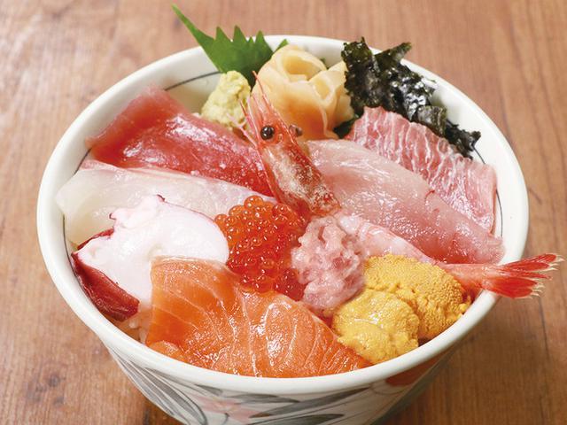 画像: 【WEB予約限定】「海鮮十種丼」と「得々三種丼」