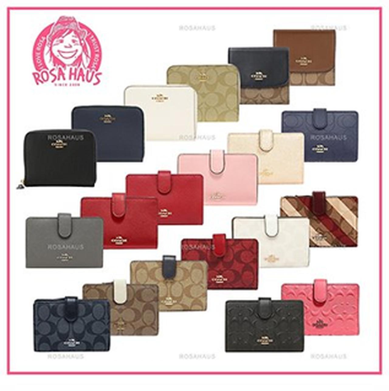 画像: 【1位】[COACH]二つ折り財布