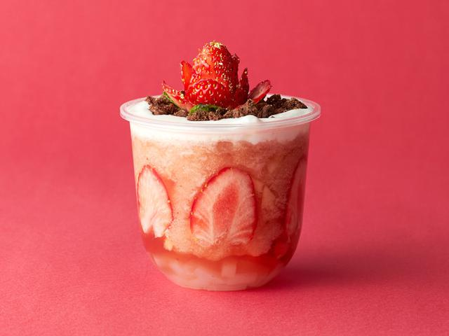 画像2: イチゴを贅沢に使った「ラッキーストロベリー」を期間限定で販売