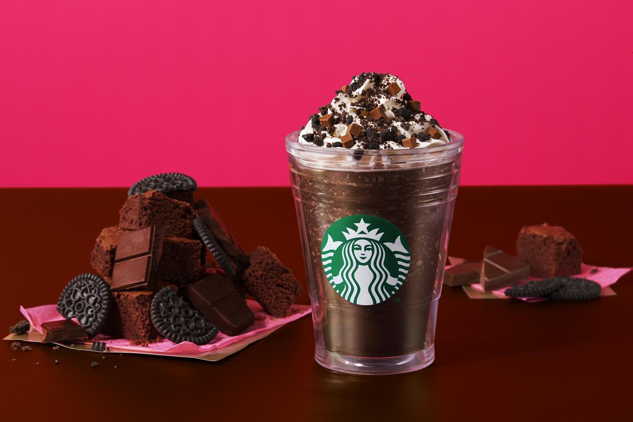 画像2: どちらかなんて選べない!2つの異なる食感でチョコレートを楽しむスターバックス