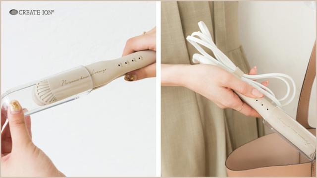画像7: 大人気ヘアメイクアーティスト土田瑠美さんが、こなれヘアアレンジ専用アイロンをプロデュース