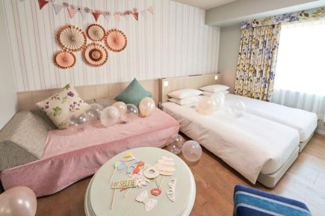 画像3: プラン限定装飾のカワイイお部屋とうれしいブランドアメニティ