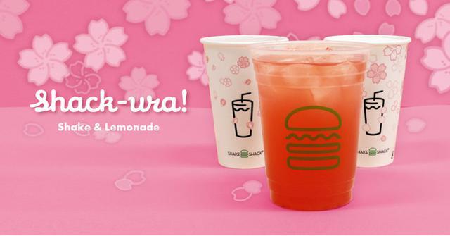 画像1: 【期間限定】「桜レモネード」&「桜シェイク」で春の訪れを楽しもう!