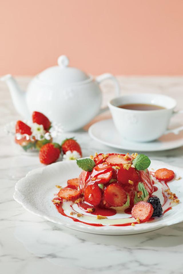 画像1: Afternoon Tea TEAROOM ストロベリーウィーク限定スイーツ