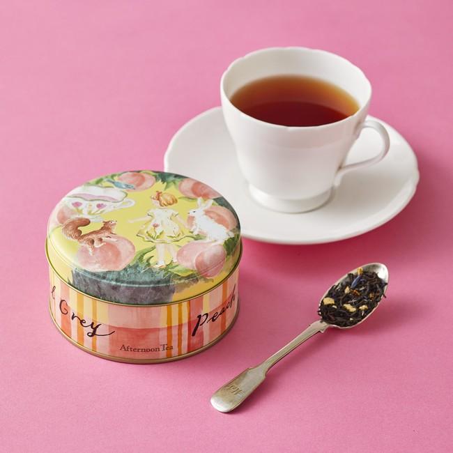 画像2: 桜の花びらと桃色のルバーブチップをちりばめたお茶など春限定のお茶