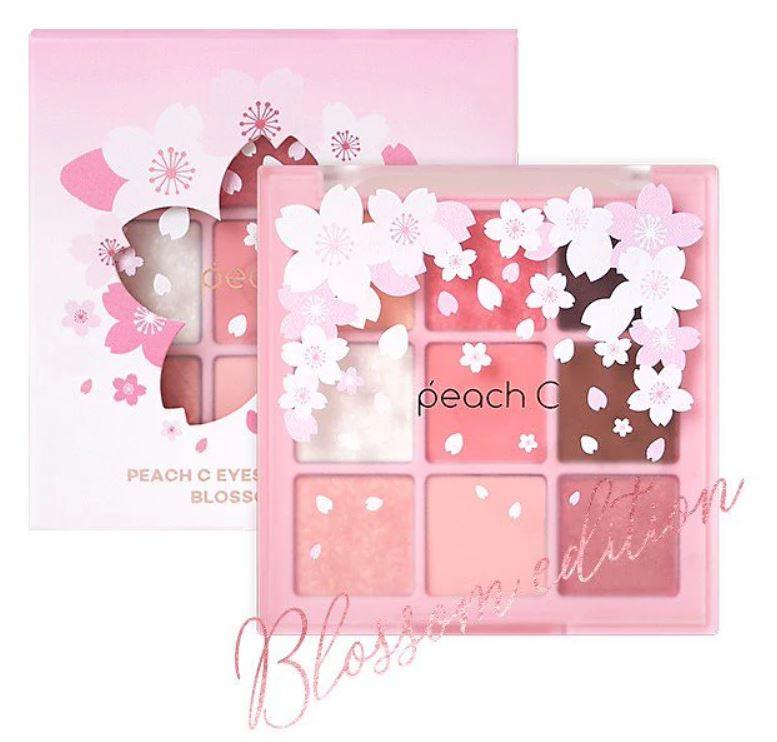画像: 【peach C】 ブロッサムエディションアイシャドウパレット