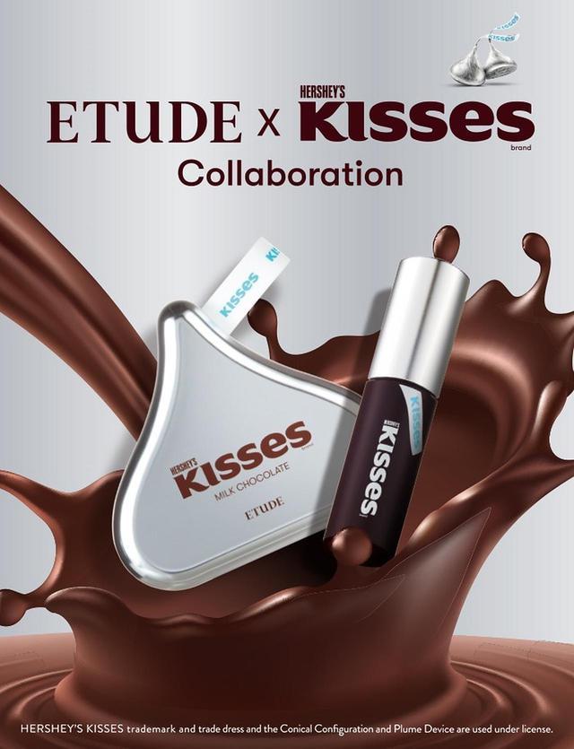 画像1: 前回も大人気だった「ETUDE」と人気チョコレート「ハーシー(HERSHEY'S)」とのコラボレーションコスメが再び登場♡