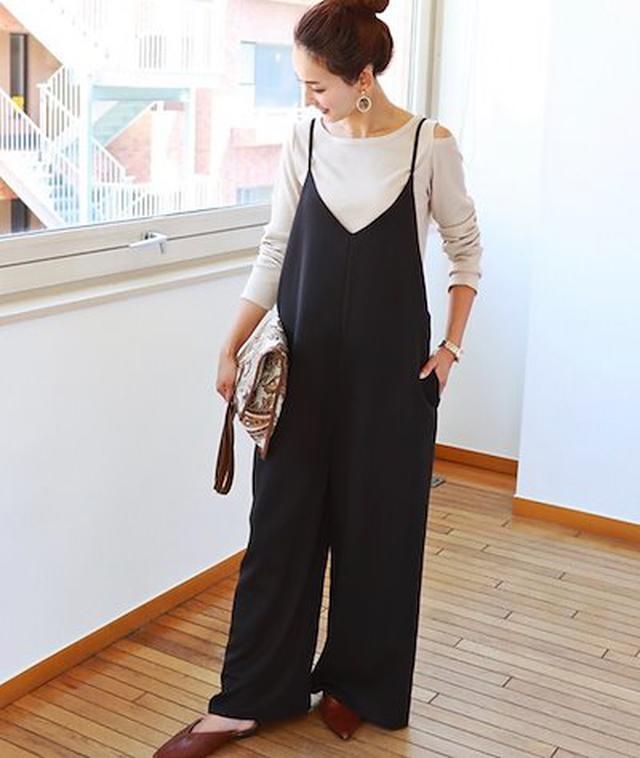画像: [Qoo10] キャミワンピース サロペット マタニティ : レディース服