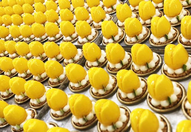 画像1: 記念すべき開店2周年の春に、チューリップ&ローズな新作ケーキ発表!