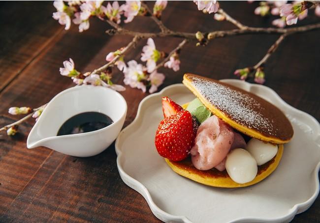 画像1: 桜の甘味でお花見気分!AKOMEYA食堂に春の桜メニューが登場!