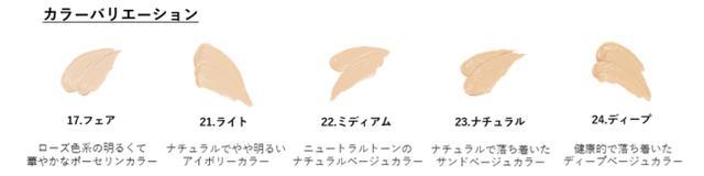 画像1: SECOND SKIN COVER CONCEALER セカンドスキンカバーコンシーラー 全5色 容量:6.5g 価格:1,980円(税込み)