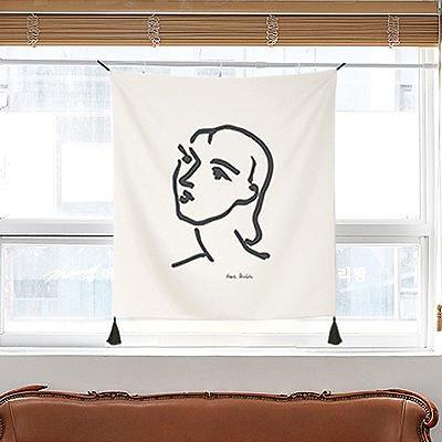 画像: [Qoo10] マティス ファブリックポスター : 家具・インテリア