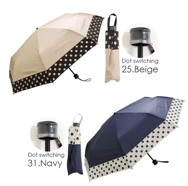 画像: 【macocca】晴雨兼用折りたたみ傘