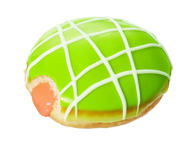 """画像2: まるで""""スイカ""""と""""メロン""""な初夏限定ドーナツで、夏を先取り!"""