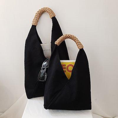 画像: [Qoo10] REHAB : [REHAB] 持ち手デザインがユニーク... : バッグ・雑貨