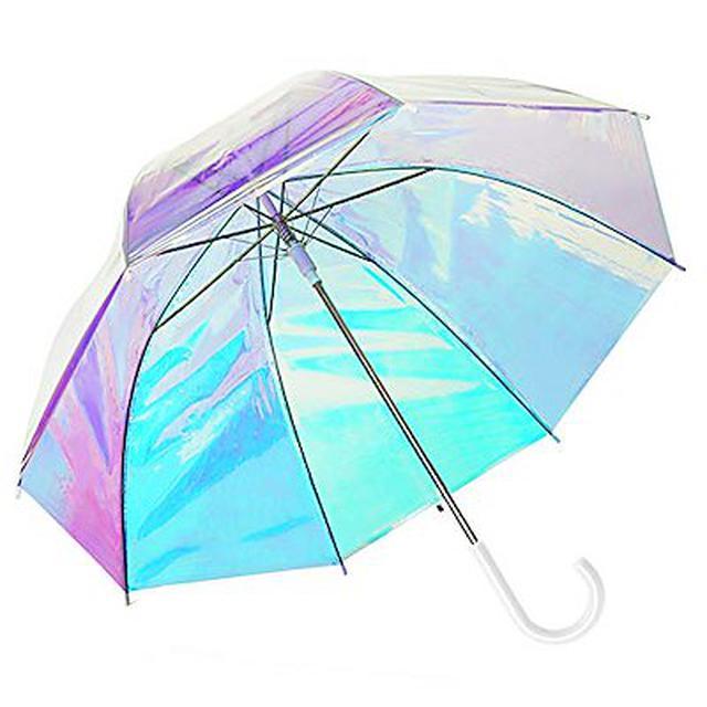 画像: [Qoo10] ビニール傘 オーロラ 長傘 : 日用品雑貨