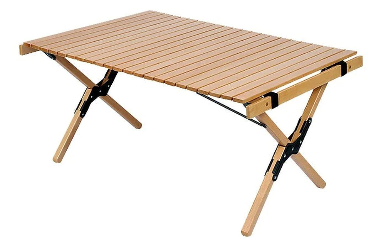 画像: 【3位】ロール天板式ウッドテーブル