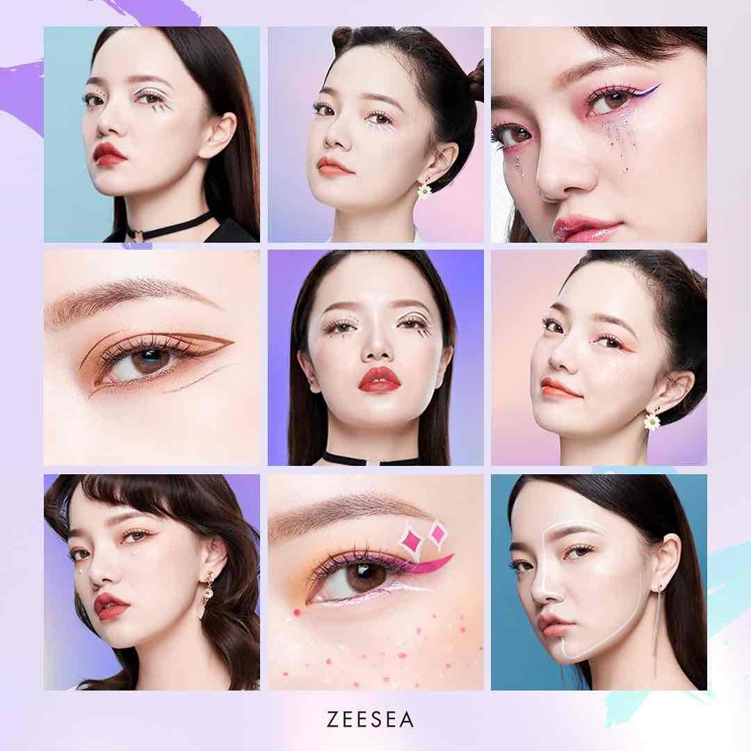 画像2: ZEESEA ダイヤモンドシリーズ カラーアイライン