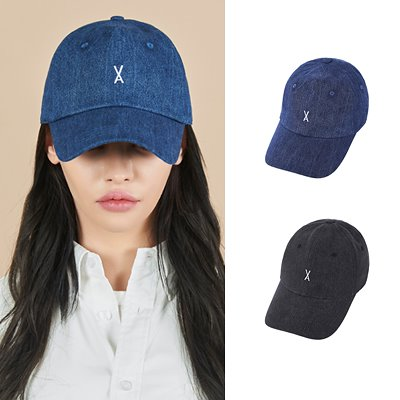 画像: [Qoo10] BTS Twice 着用ブランド[VARZAR] Varzar Logo Over Fit Denim Ball Cap