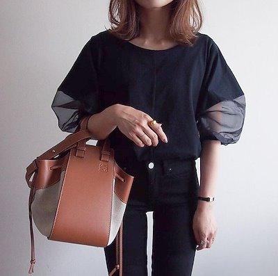 画像: [Qoo10] 2021新作 韓国ファッション 切り替え