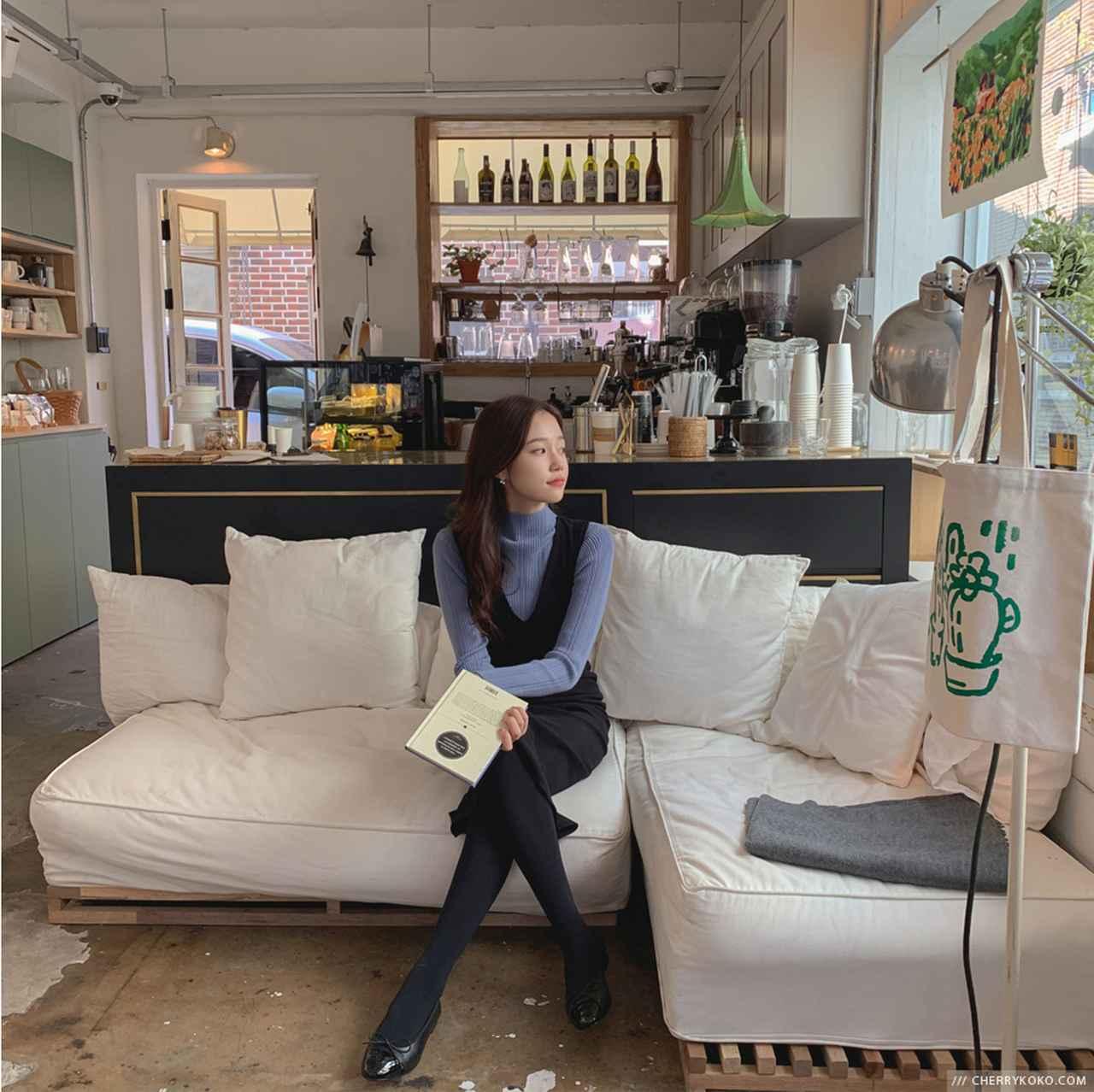 画像1: ロマンチックでトレンディなシルエットが魅力、「CHERRY KOKO」の秋スタイル