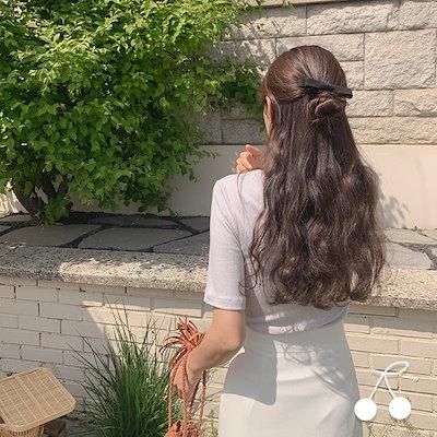 画像: [Qoo10] チェリーココ : ソフトな 半袖 ニットTシャツ公式ハイク... : レディース服