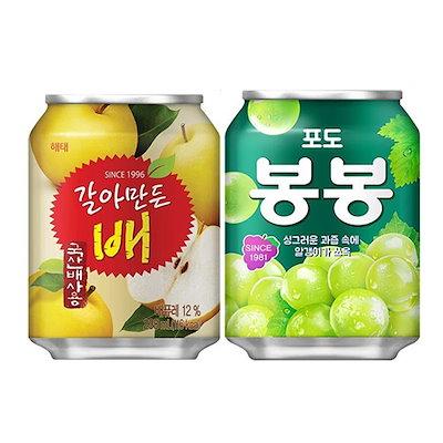 画像: [Qoo10] ヘテ : 2種類から選べる韓国人気ジュース24缶セ... : 食品