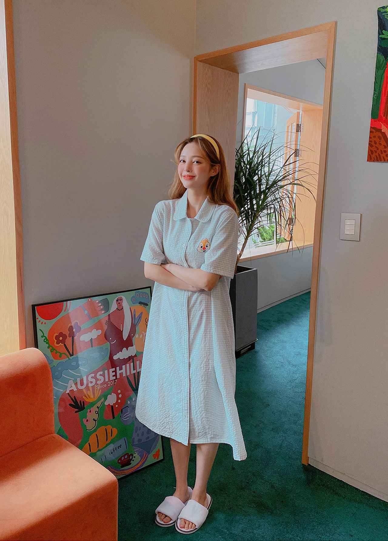 画像: ★【chuu】ディズニーチップアンドデール ワッフルパジャマ
