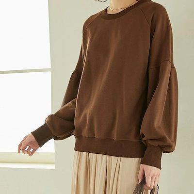 画像: [Qoo10] カレイ : パーカー風トレーナー : レディース服