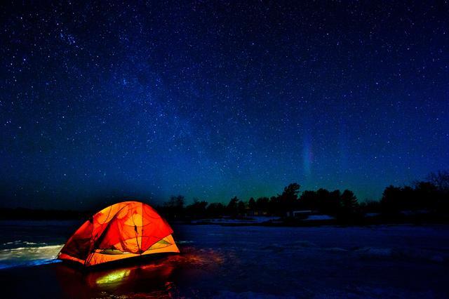 画像: 通年営業のキャンプ場で楽しむ冬キャンプの魅力は、安価で利用者が少ないこと 天体観測も楽しみの一つ
