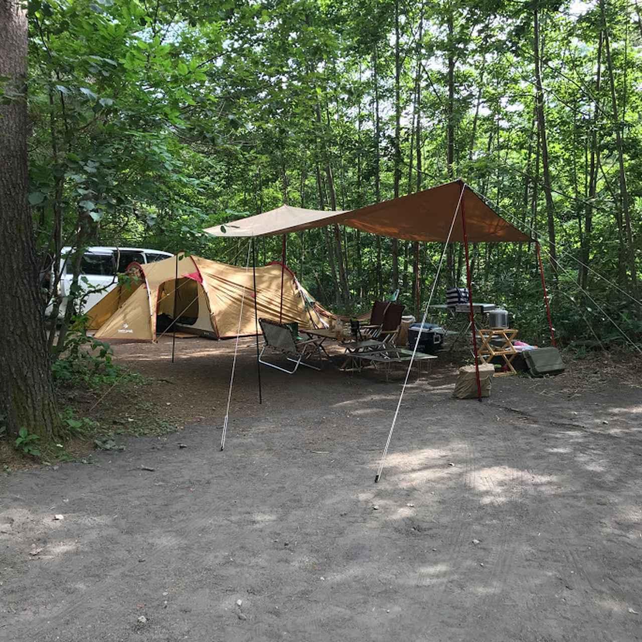 画像: キャンプの設営は慣れるまで大変