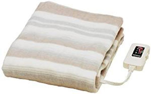 画像: Amazon | Sugiyama 【水洗いOK】 敷き毛布 140×80cm NA-023S | 椙山紡織 | 電気毛布・ひざ掛け