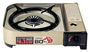 画像: Amazon | イワタニ カセットフー BO(ボー) EX 【強火力コンロ / 最大発熱量4.1kW】 ヘアラインシルバー CB-AH-41 | Iwatani(イワタニ) | カセットコンロ