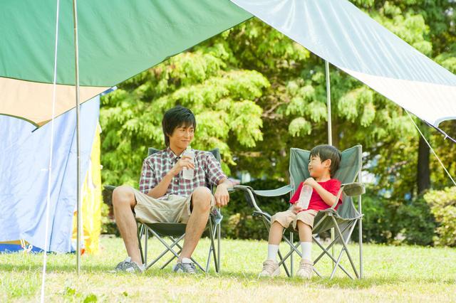 画像: 自分に合ったタープでファミリーキャンプを楽しもう!
