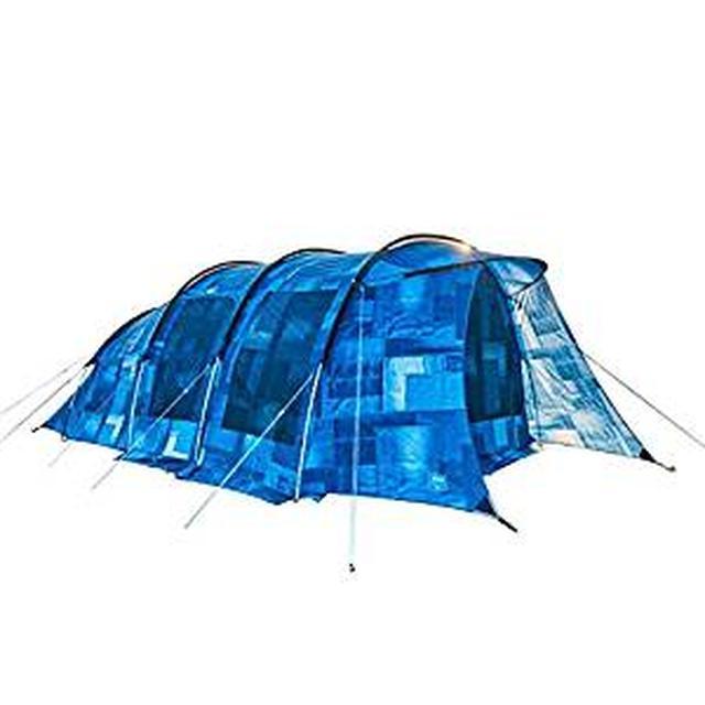 画像: Amazon   コールマン(Coleman) テント ILトンネル2ルームハウス LDX デニム 2000032597   コールマン(Coleman)   テント本体