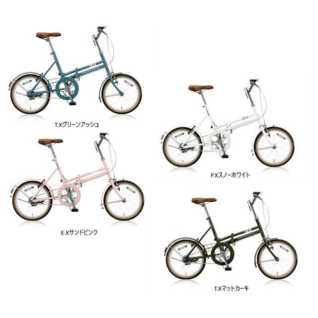 画像: 【楽天市場】BRIDGESTONE(ブリヂストン) MarkROSA-F(マークローザF) GREENLABEL(グリーンレーベル) 変速なし 2018年モデル 折りたたみ自転車:GATE IN