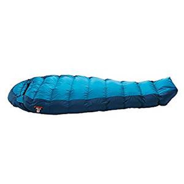 画像: Amazon   (ナンガ)NANGA オーロラライト 600DX BLU レギュラー AURLT53   Nanga(ナンガ)   寝袋・シュラフ