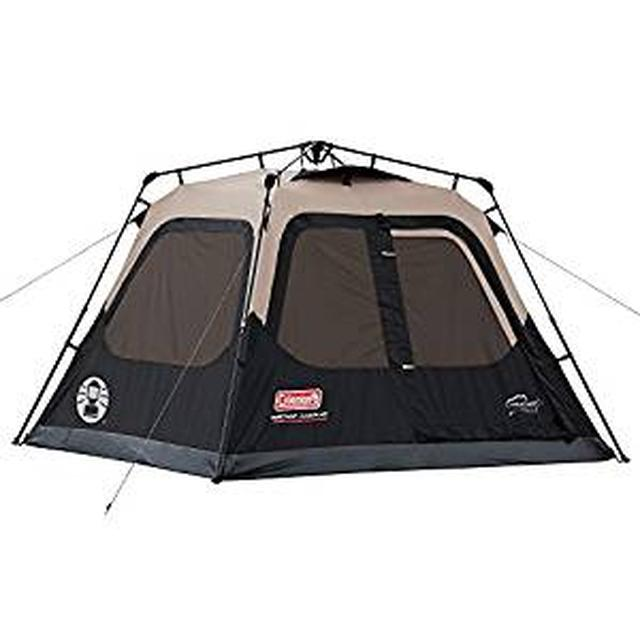 画像: Amazon | コールマン NEW インスタント テント4 (1分で組立て・収納ができるテント) | コールマン(Coleman) | テント本体