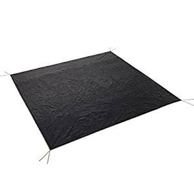 画像: Amazon | ロゴス ぴったりグランドシート 正方形タイプ | | テントシート