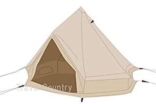 画像: Amazon | NORDISK ノルディスク アスガルド12.6 テント + フロア セット Asgard12.6 Tent + Floor Set [並行輸入品] | NORDISK | テント本体