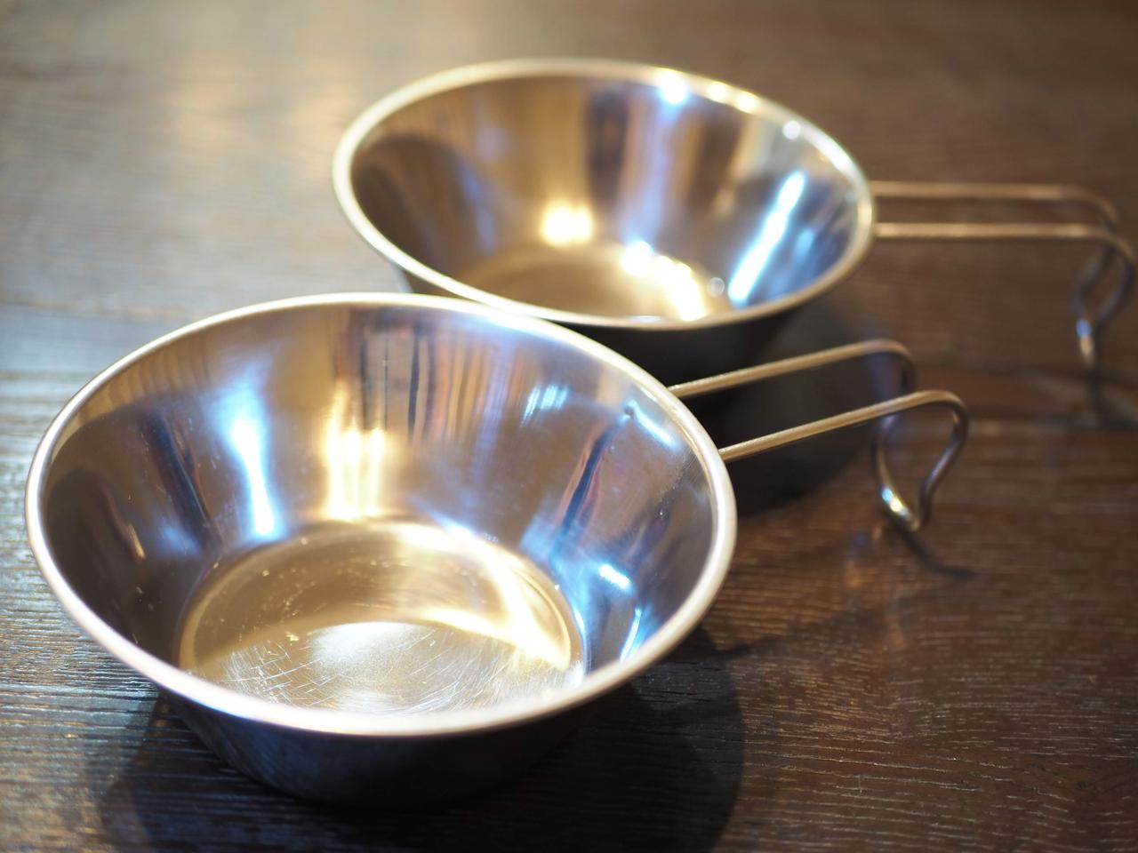 画像1: ③ キャンプの食器でヘビーユースのシェラカップ型