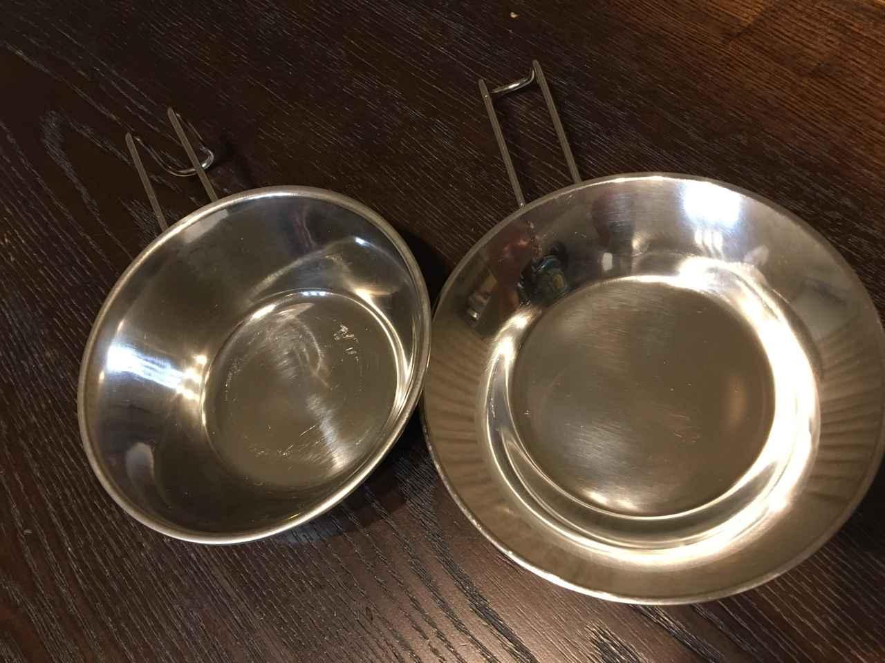 画像2: ③ キャンプの食器でヘビーユースのシェラカップ型